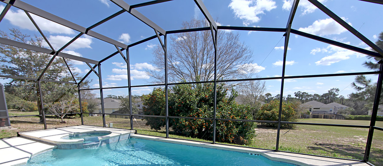 pool cage design and construction